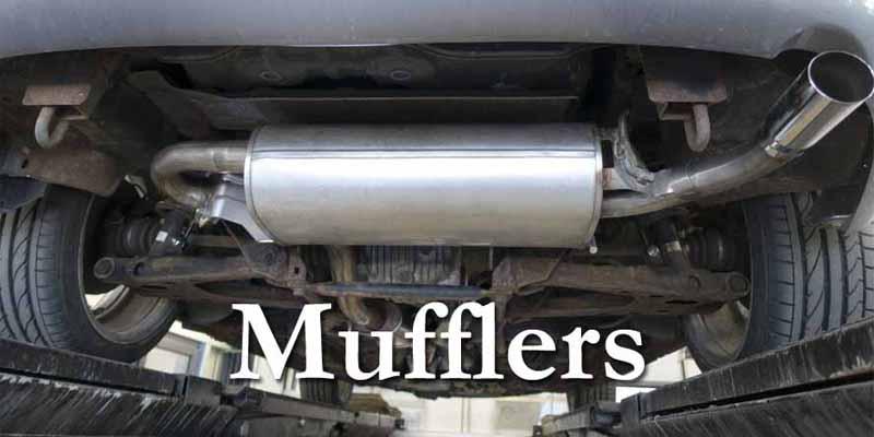 Mufflers 8x4