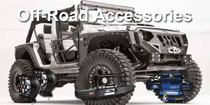 Off-road accessories 8x4
