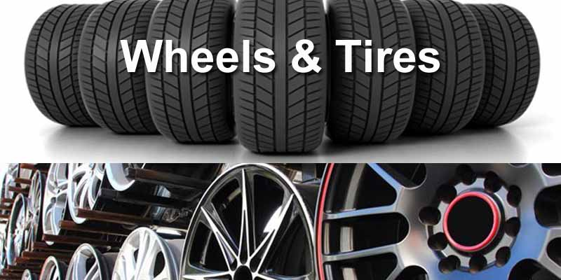 Wheels & Tires 8x4