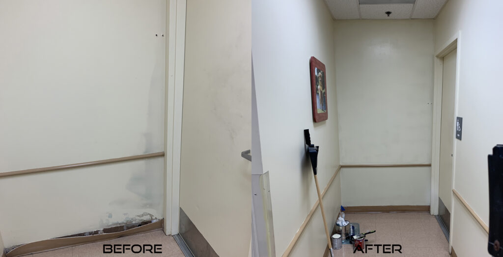 Frontier Building Solutions Wall Repair