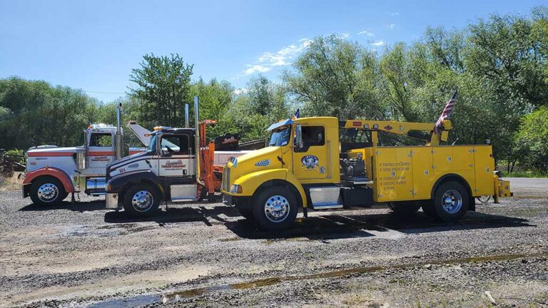 Frank's Towing Rigs for any size.