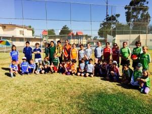 Soccer Kids America Scores Donation from soccerloco