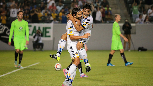 LA Galaxy Begin 2016 With Tall Task in CONCACAF Champions League