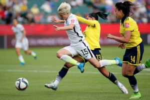 USWNT moves on to the quarterfinals