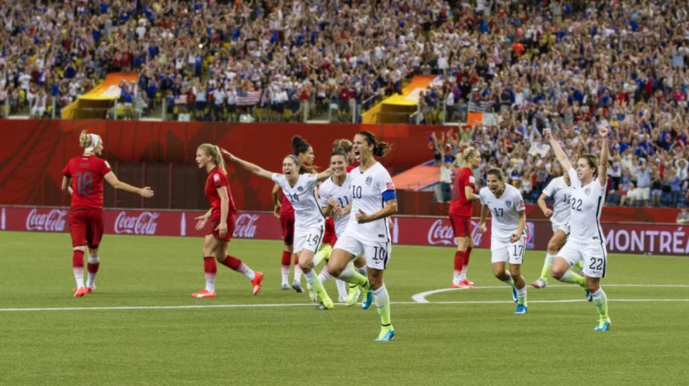 USWNT beat Germany and move on to the World Cup final