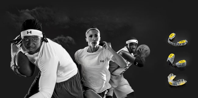 Under Armour and Bite Tech release the World's First Antimicrobial Mouthguard