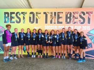 2015 San Diego soccerloco Surf Cup Winners!