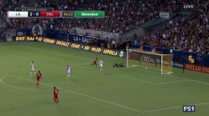 LA Galaxy Secure A Much Needed Victory