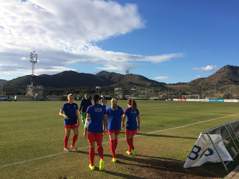 Young U-20 WNT squad off to Spain as World Cup Qualifying prep continues