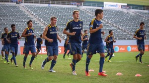 Final weekend of U-17 Generation adidas Cup Qualifying