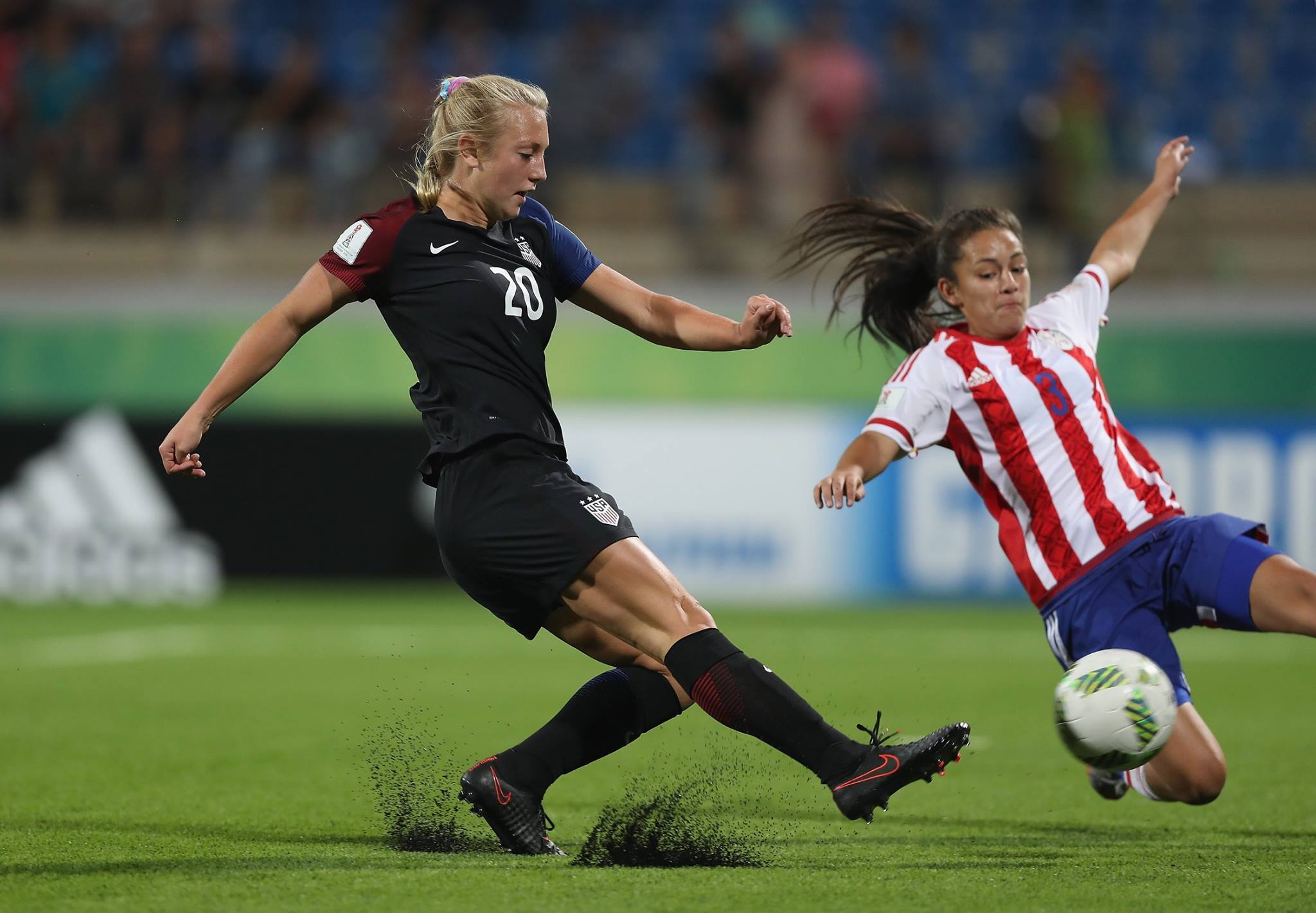 Cali Natives Score Two Goals In USA's 6-1 Win Over Paraguay In Opening Match of U-17 Women's World Cup