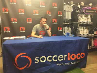 Robbie Keane Exclusive: Ireland Legend Visits soccerloco in San Diego
