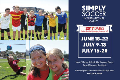 Simply Soccer International Camps Return – Bigger and Better Than Ever
