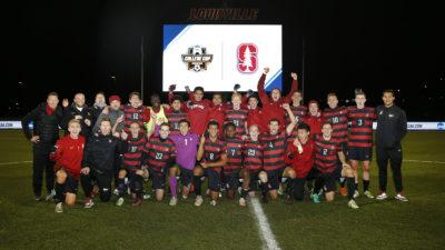 Stanford Men Reach College Cup Final Four