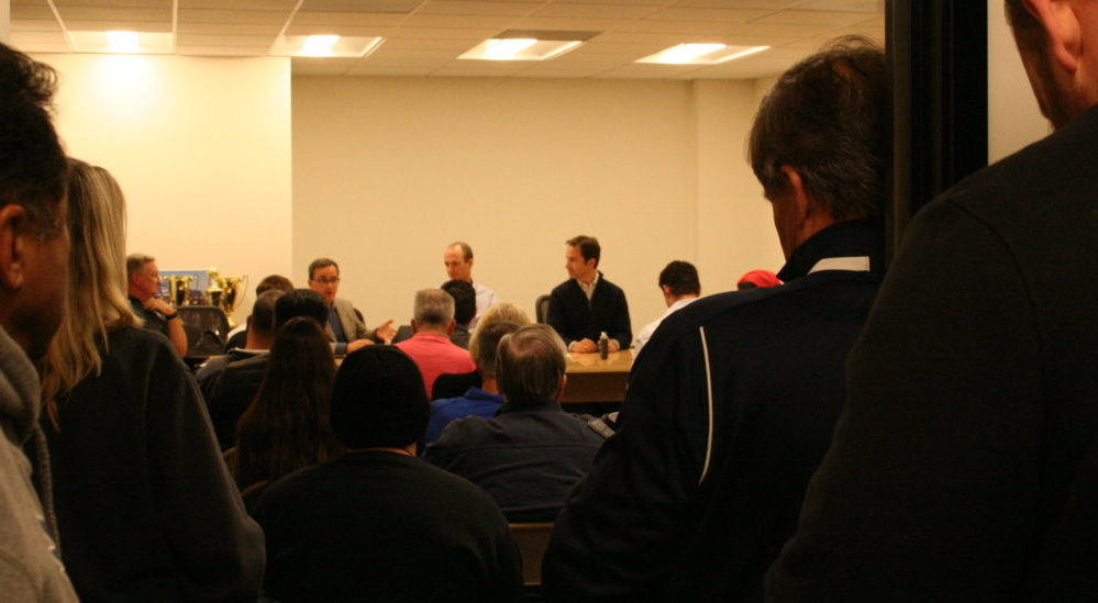 Presidio Soccer League Meets with MLS Stadium Project Investors