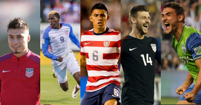 Five California Natives (Villafaña, Zardes, Corona, Arriola, Roldan) Named To Gold Cup Roster