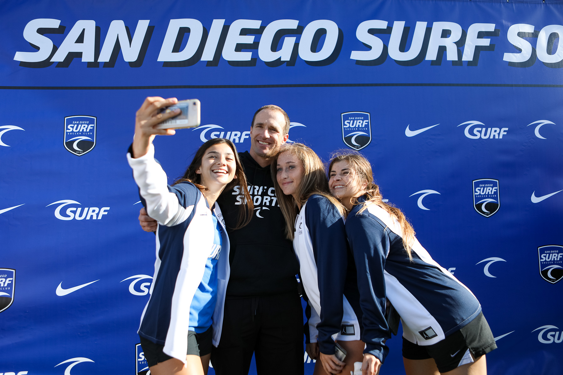 Surf Soccer Club Sends Seniors off in Style