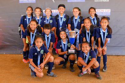 Team Profile: Ballistic Soccer Club wins Albion Cup GU11