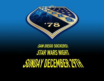 The Force is Strong with the San Diego Sockers