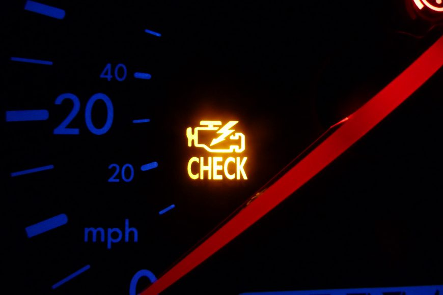 The Top 5 Reasons Your Check Engine Light Is On