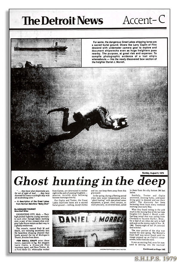 Ghost hunting in the deep