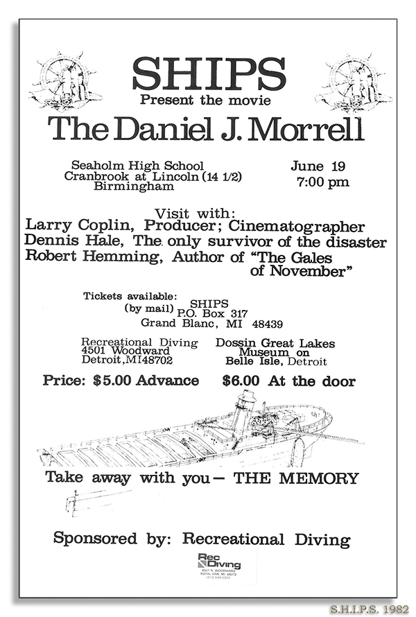 Morrell Film Show Flyer