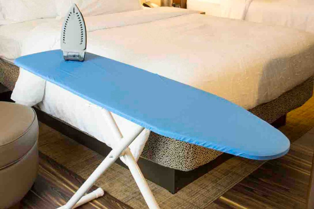 Ironing Board in Guest Room