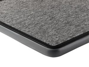 Grey carpet with grey bumper deck