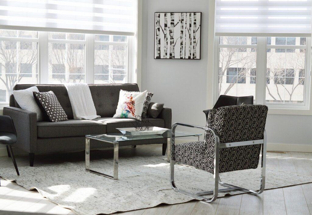 living room, condo, house