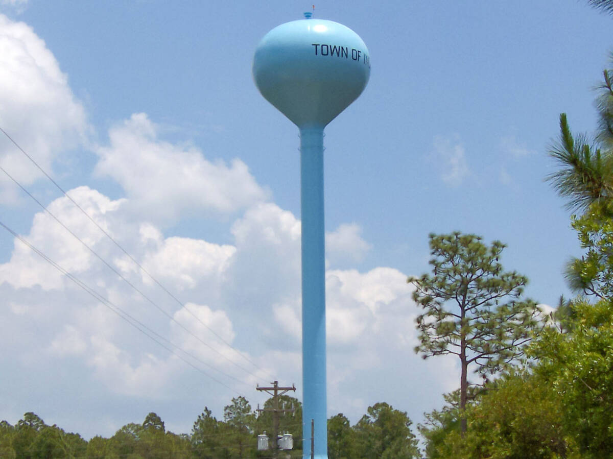 TOWN OF INGLIS – ELEVATED TANK