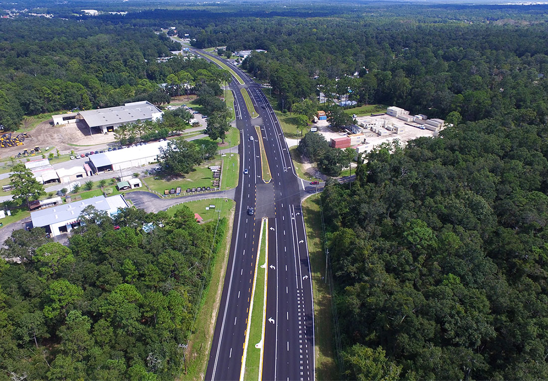 SR 10 FROM GADSDEN COUNTY LINE TO EAST OF FERNWOOD DR.