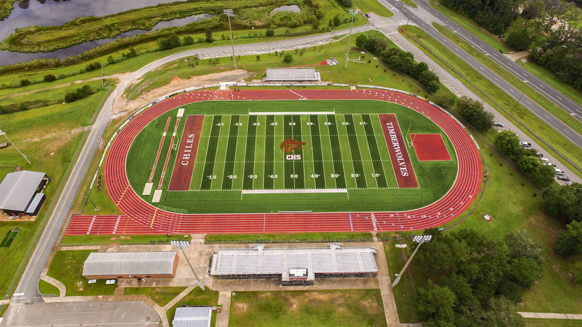 CHILES HIGH SCHOOL FOOTBALL FIELD SURFACE REPLACEMENT