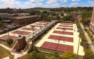 Tennis Courts Resurfaced
