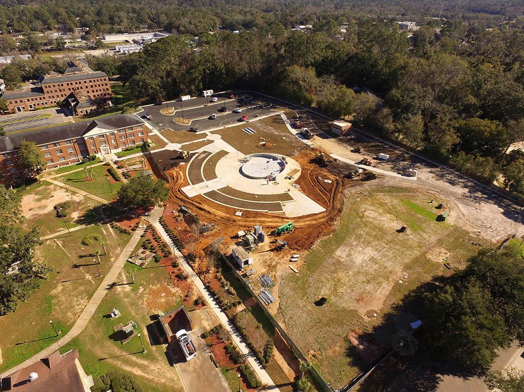 Amphitheater construction