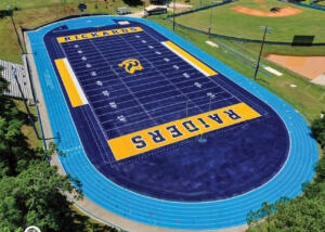 Rickards Turf-to-Synthetic Conversion Corner-View