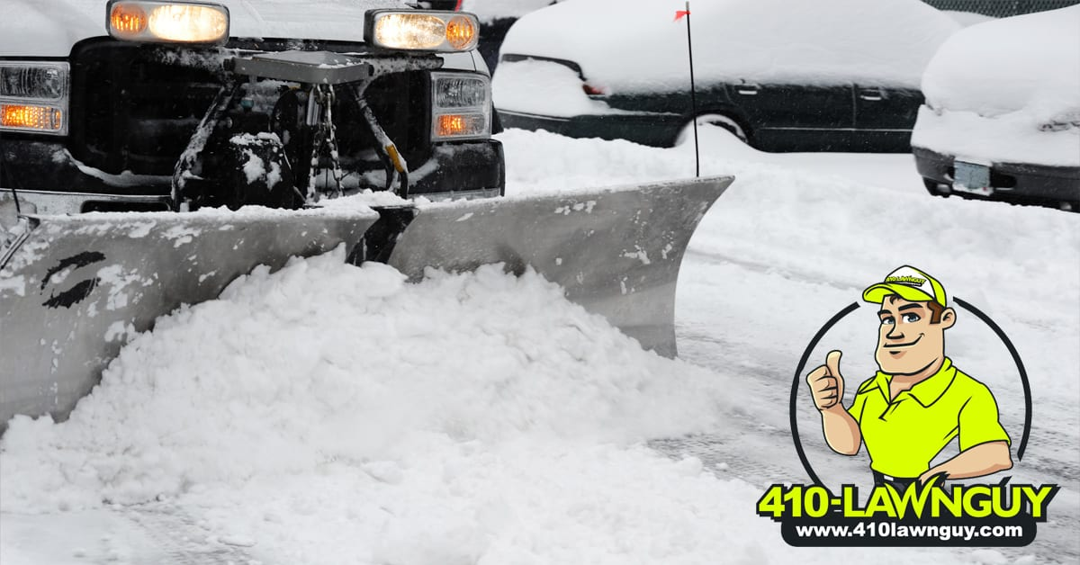 Plowing Your Private Roads