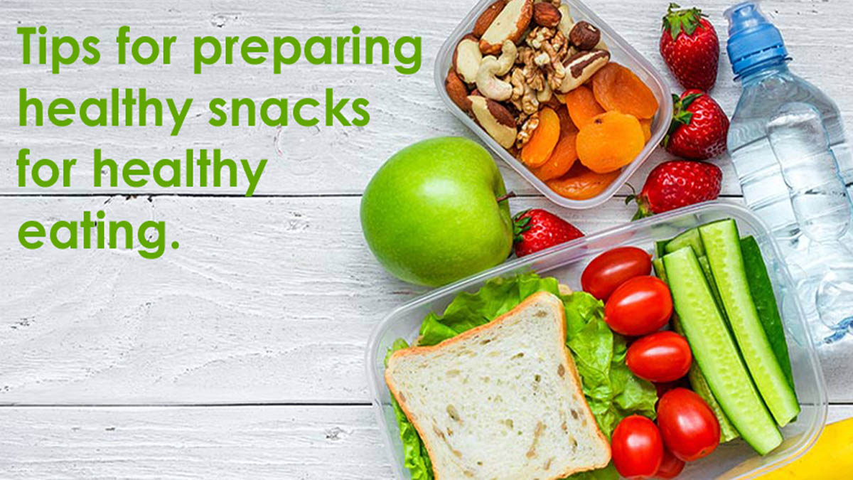 healthy snacks for healthy eating