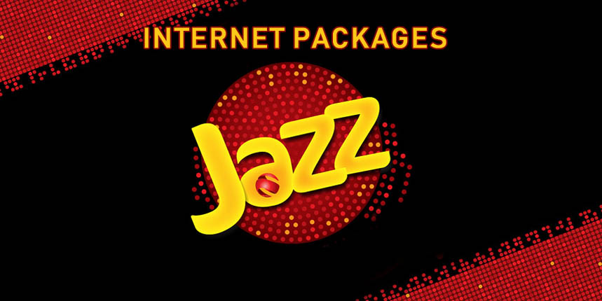 Jazz 3G & 4G Internet Packages