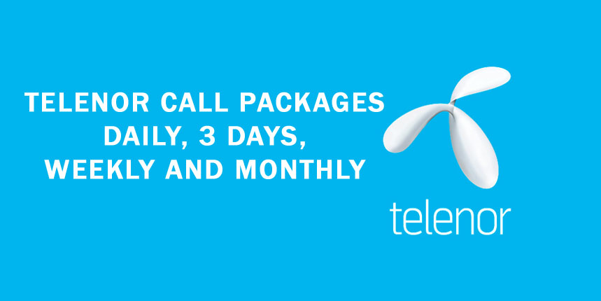 TELENOR CALL PACKAGES: DAILY, 3 DAYS, WEEKLY AND MONTHLY