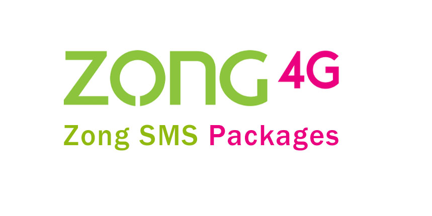 Zong SMS Packages, Daily, Weekly & Monthly 2019