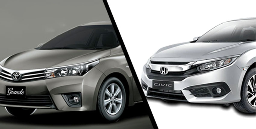 Toyota Grande and Honda Civic to cost Rs280000 more as increases duties