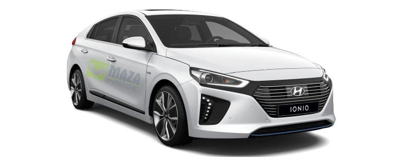 Hyundai Ioniq 2019 left side look