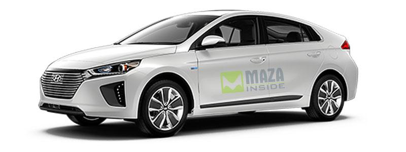 Hyundai Ioniq 2019 right-side look