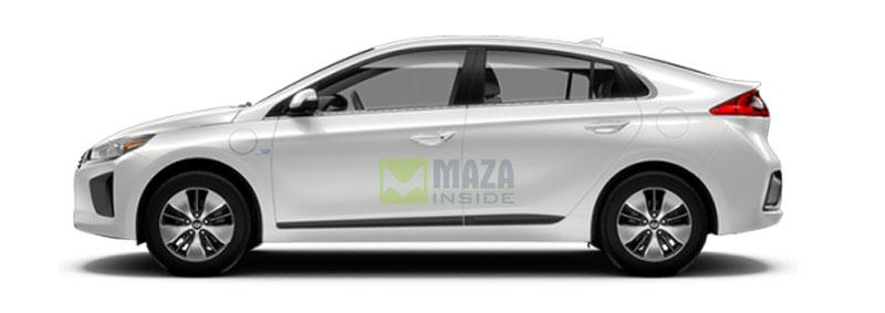 Hyundai Ioniq 2019 side look