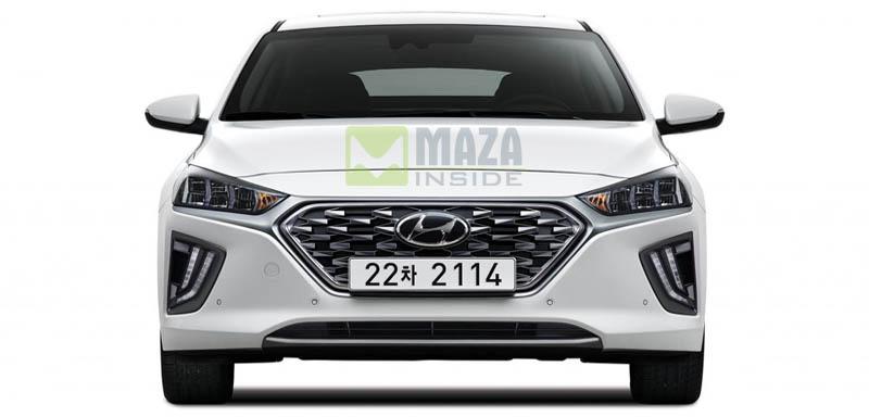 Hyundai Ioniq 2019 front look