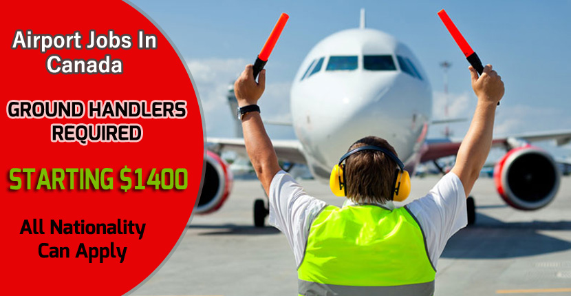 Airport Ground Handling Jobs in Canada