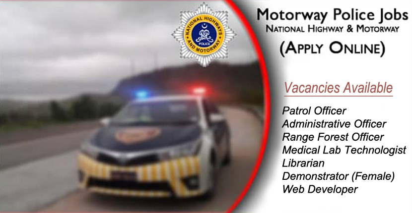 National Highway and Motorway Police Jobs 2020
