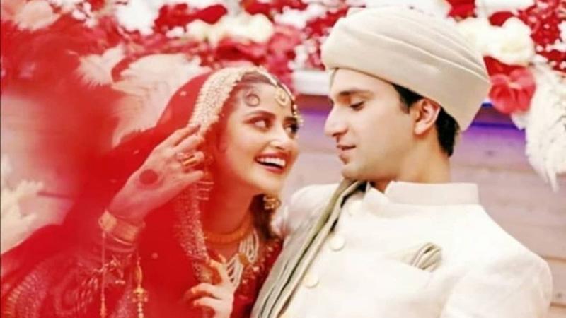 Sajal Ali, Ahad Raza Mir's family wedding pictures win hearts