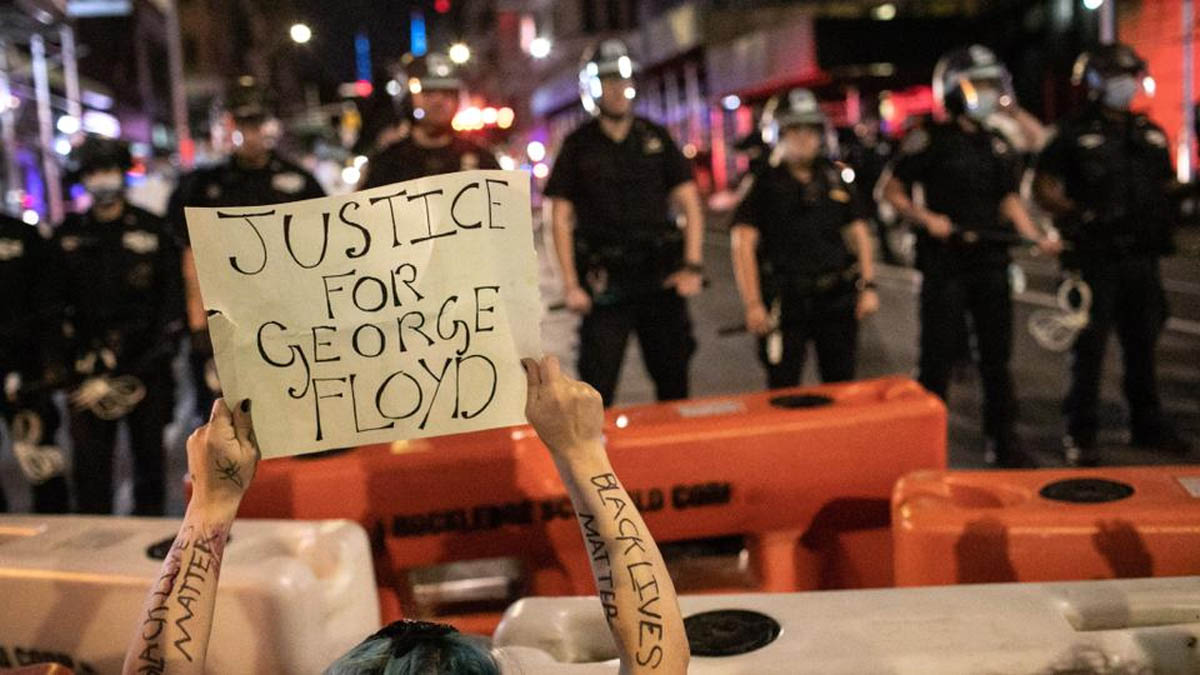 George Floyd protests: Fires set, windows smashed, stores looted after 4th day in NYC