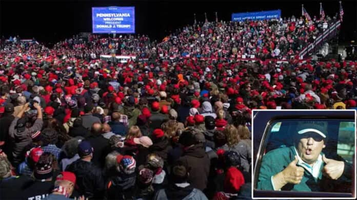 Trump fans planning Million MAGA March on Washington DC to stop the steal